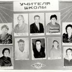 Учителя 1986 год
