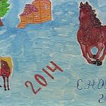 Рисунки школьников