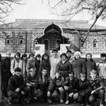 Поездка по Золотому кольцу 1988 г.