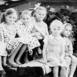 Марина Селиванова, Ольга Селиванова, Нина Савкова, Лена Ульянова, Тоянко Оля, Галя Конькова