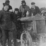 Трактор для коммунаров. 1929 год.