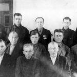 Работники механической мастерской
