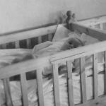 В детяслях колхоза им. Ленина. 1947 г.