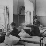 Детский сад колхоза им. В.И. Ленина.  1940-е гг.