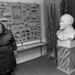 Хранительница истории Желудкова М.Н. в музее