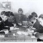 Кружок радиотелеграфистов. 1955 год