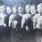 Футбольная команда 1947 год