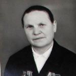 Можарова Матрёна Григорьевна телятница 1966 год