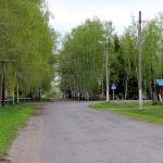 Центр села Ленинское. 2014г.