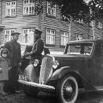 Разговор. Механик и бригадир.1947 год.