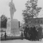 Преподаватели школы колхоза им. В.И. Ленина