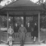 В парке колхоза им. В.И. Ленина. Приблизительно 1952-1958г.